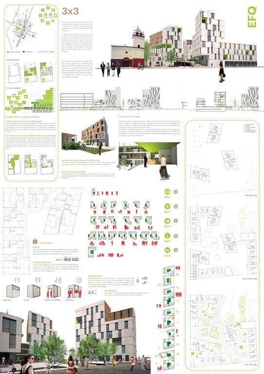 Projects presented to the Medellin experimental social housing International Architecture Competition for Students and Young Graduates Organized by ARCHmedium