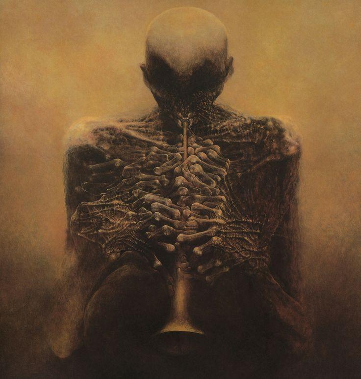 zdzislaw beksinski   tumblr: Anatomy Art, Classic Music, The Artists, Zdzislawbeksinski, Zdzislaw Beksinski, Zdzislaw Beksinski, Alternative Art, Painting, Visionary Art
