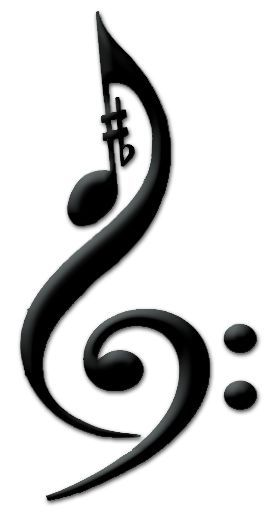 simple and inventive. Music Collage Tattoo v.2 by ~Fang639 on deviantART
