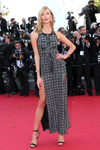 The most glamorous red carpet fashion spotted at Cannes Film Festival: Karlie Kloss