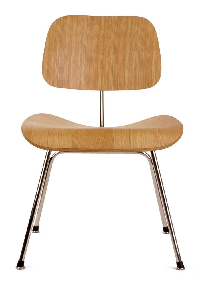The Matt Blatt Replica Eames Dcm Dining Chair By Charles
