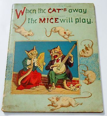 When The Cat's Away The Mice Will Play