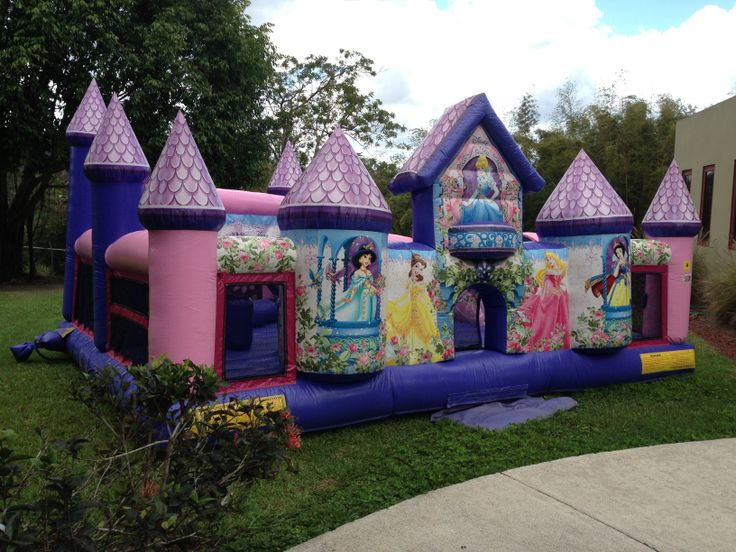 Palace Jumping House Pink Princess PartySnow WhiteBackyard IdeasPalaces
