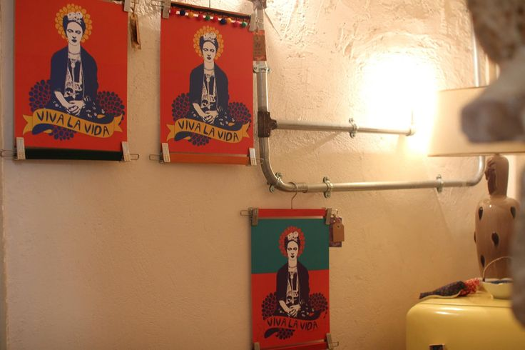 Frida Kahlo art prints by Rooftop. #etsy #egst #Fridakahlo #artprints #illustrations #homedecor