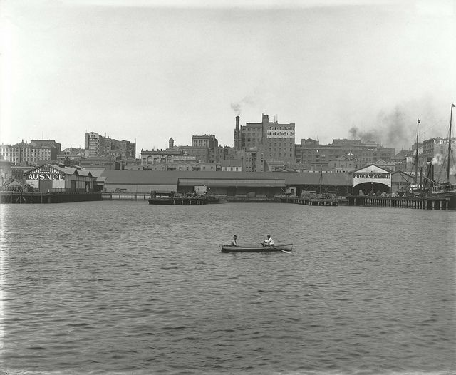 Darling Harbour, Sydney NSW. c early 1900's