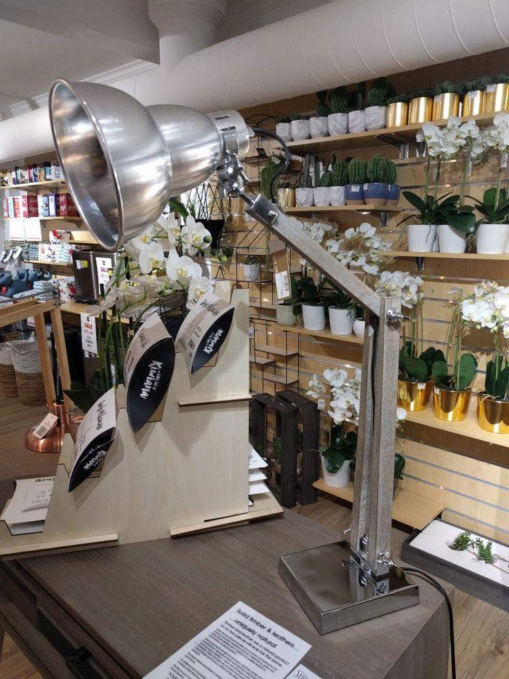 The design store silver lamp