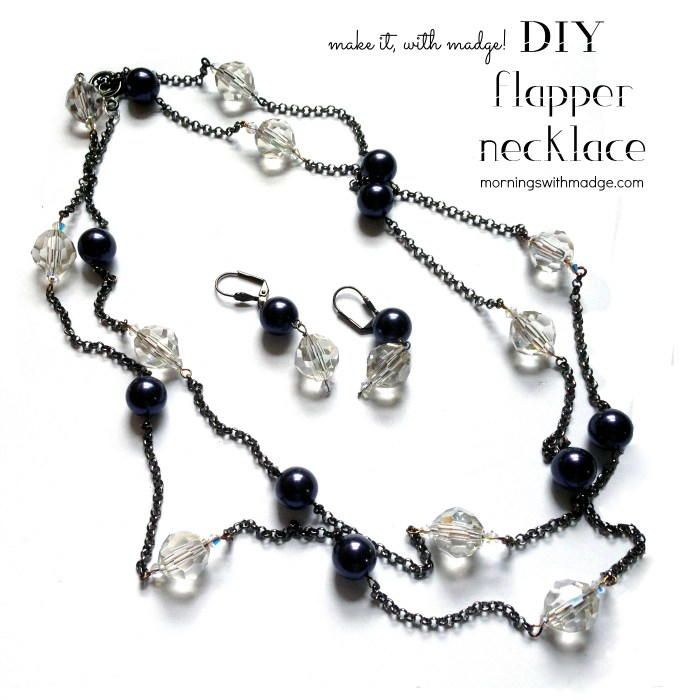 Best 366 diy necklace projects and tutorials images on pinterest 1920s flapper beaded necklace necklace tutorialdiy necklacenecklace designsbeaded solutioingenieria Image collections