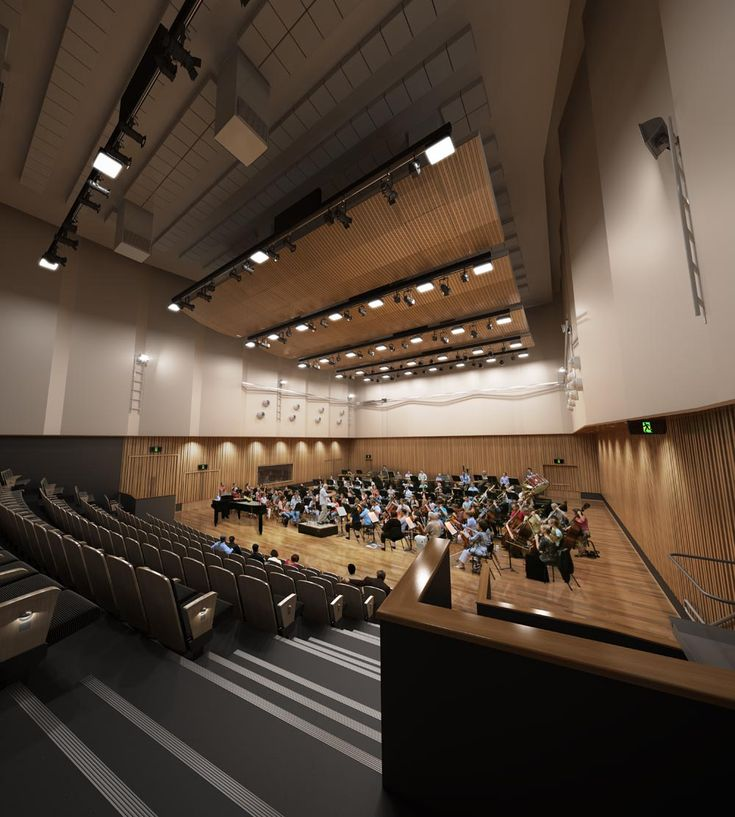 ABC Auditorium Render | Richard Kirk Architect