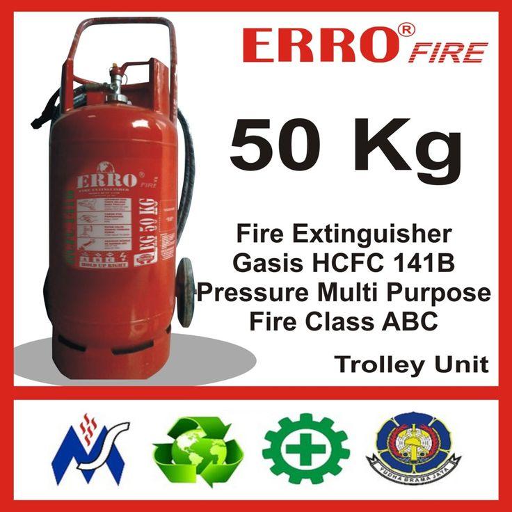 Alat Pemadam Kebakaran Gasis Pengganti Hallon 50 Kg | Tabung Apar