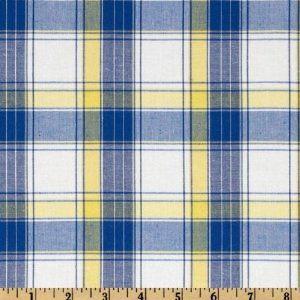 Blue And Yellow Plaid Fabrics 51qcdiiwkil Sy300 Jpg