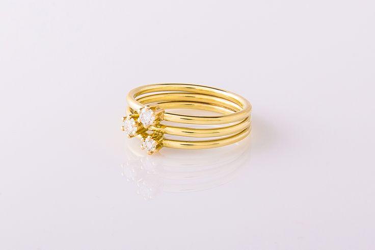 In de collectie van Goudmerk vindt u diverse bijzondere verlovingsringen die altijd speciaal voor u op maat worden gemaakt.