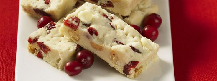 Cranberry & White Chocolate Shortbread | Recipes
