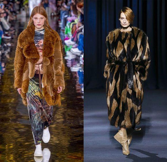 Manteau femme hiver 2019 fourrure