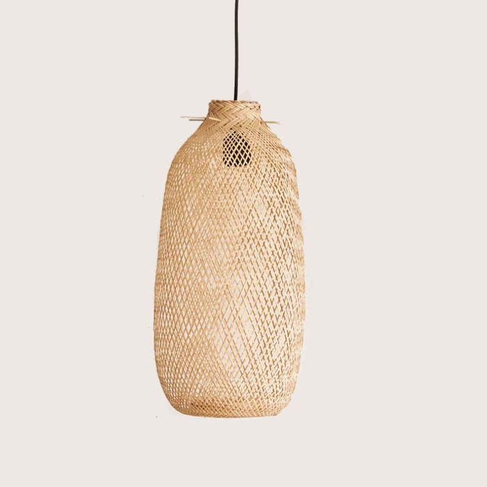 Suspension En Bambou Goutte Luminaires Magasin De D Co Et Cadeaux Ambiances Et Mati Res Wish