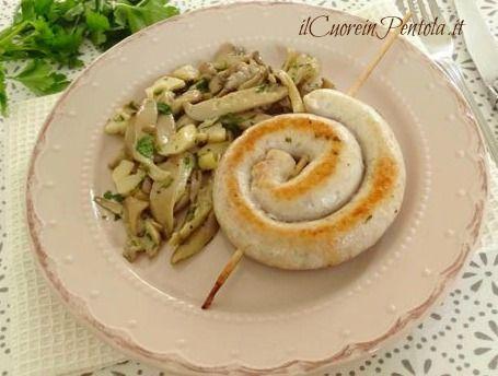 Salsiccia di pollo con funghi - Ricette Facili IlCuoreinPentola