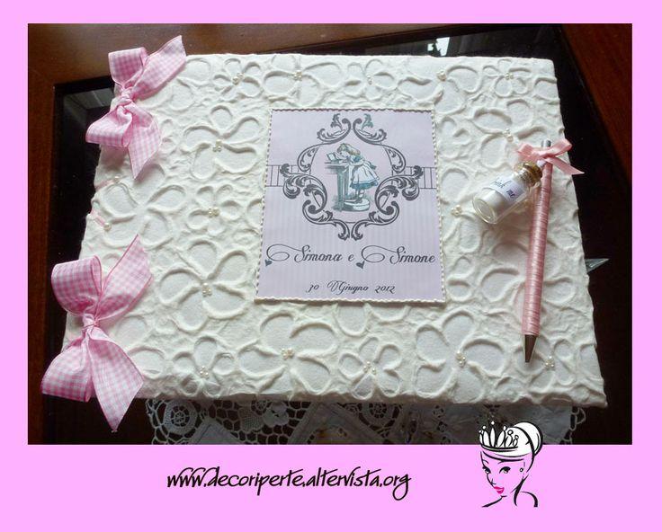 Alice in Wonderland Wedding Guestbook