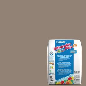 Mapei Ultracolor Plus Fa 25-Lb Walnut Sanded/Unsanded Powder Grout 6Bu