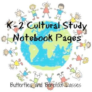 Butterflies & Barefoot Lasses: Notebook Pages to Supplement Sonlight Core A ® Cultures