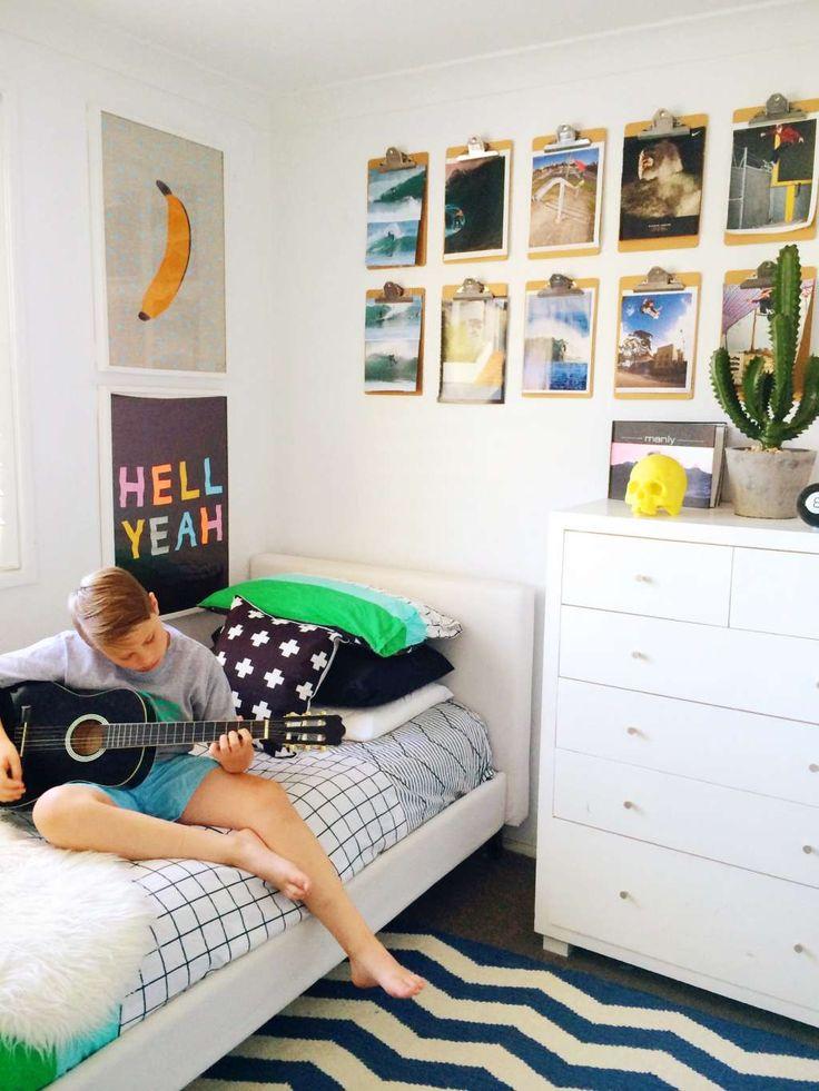 Finn's Surf & Skate Room Kid room decor, Surf style