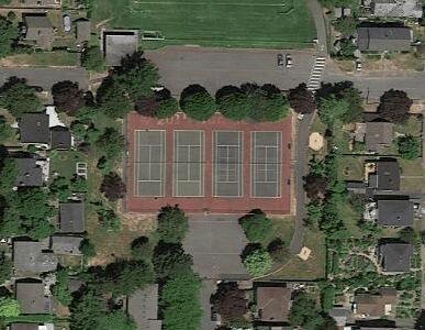 Oaklands Park - Tennis Courts in Victoria British Columbia