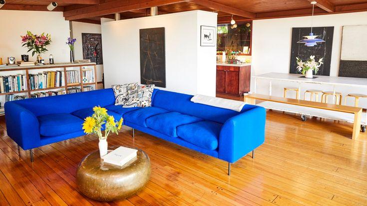 Inside A Fashion Designer S Mid Century Modern L A Home Home Mid Century Modern Design
