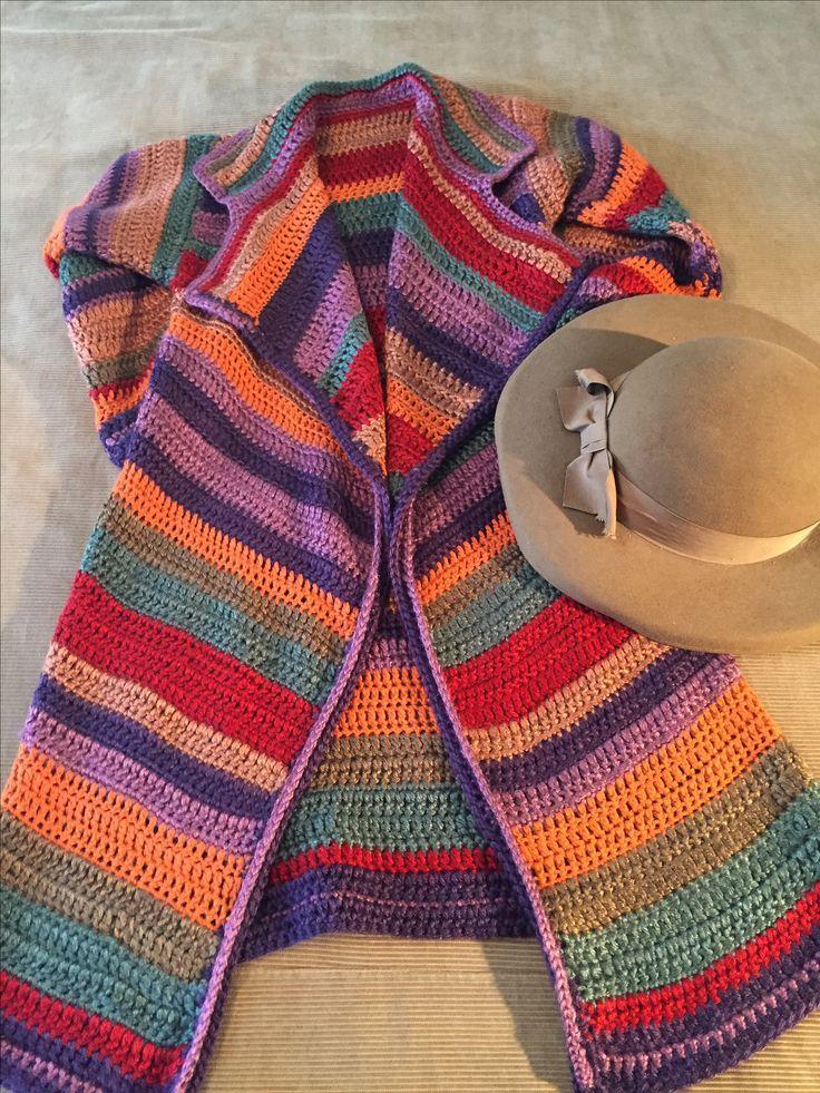 Abrigo Crochet by Fiber Art.