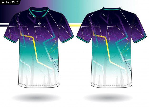 Sports Jersey Template For Team Uniforms Premium Vector Premium