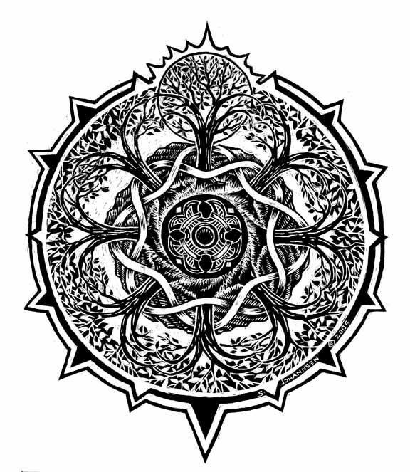 37 Best Tree Of Life Mandala ...