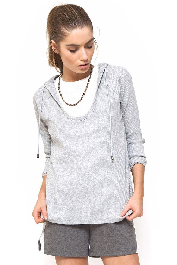 First Base - Down The Time Rib Hoodie