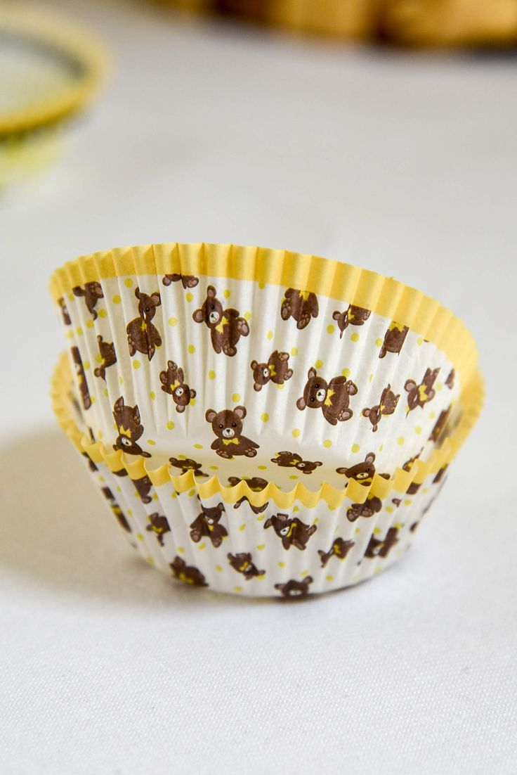 Teddy Bear Picnic cupcake cases by Hunters Rose