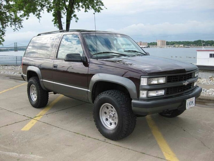 2 door tahoe blazer full size tahoe yukon blazer pinterest chevy cars and k5 blazer. Black Bedroom Furniture Sets. Home Design Ideas