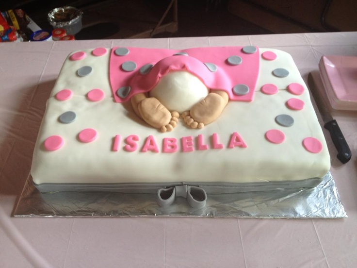 Baby Bottom Cake by Cake Cousins
