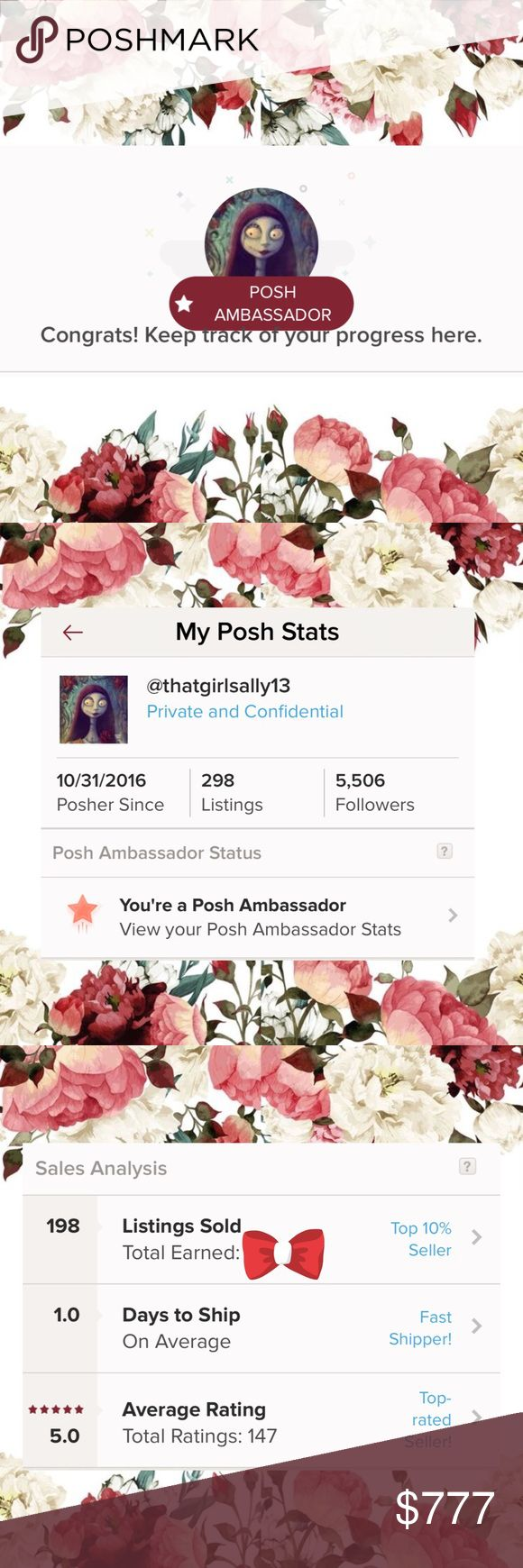 I'm a Posh Ambassador 🦄💕🦄 Thank you all for every follow, like, share, purchase & rating 💝 I truly appreciate it . I love being a part of this wonderful community.   Happy Poshing 💕🛍💕 LuLaRoe Other