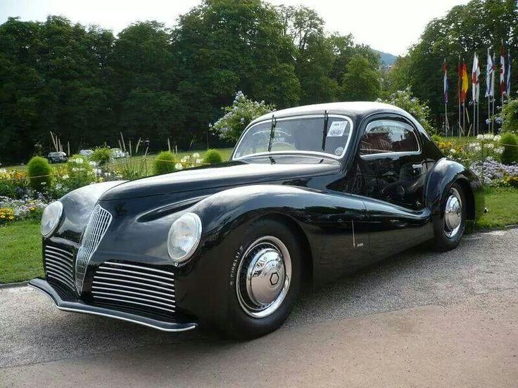 1942 Alfa Romeo 6c 2500 by Bertone