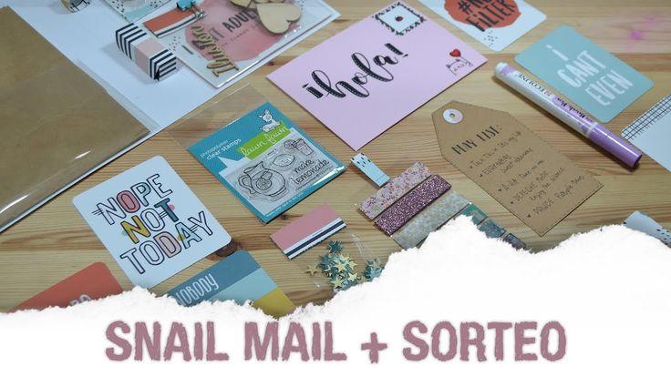 Turorial Snail mail + ¿Otro sorteo? - UGDT