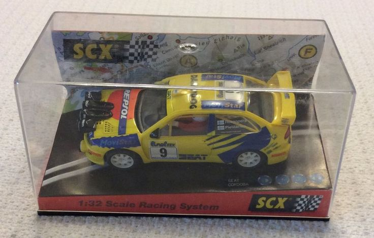 SCX Seat Córdoba WRC Montecarlo 1999 #60230 Slot Car In Box #SCX