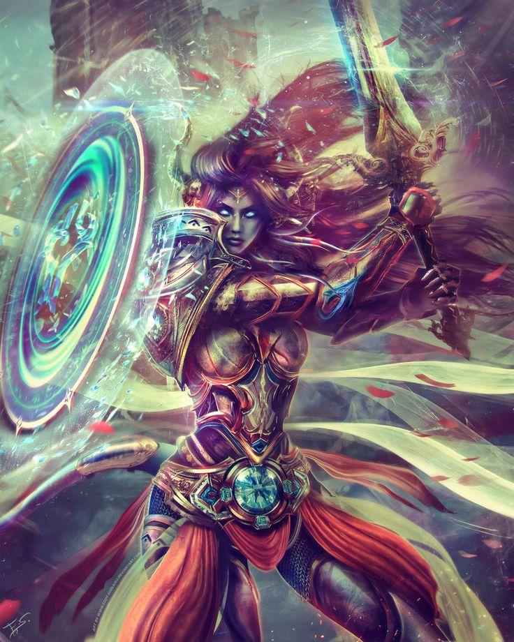 Paladin Draenei - World of Warcraft by Eddy-Shinjuku.deviantart.com on @DeviantArt