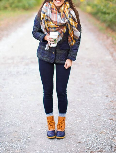 Best 25+ Bean boots outfit ideas on Pinterest | Duck boots outfit Preppy fall outfits southern ...