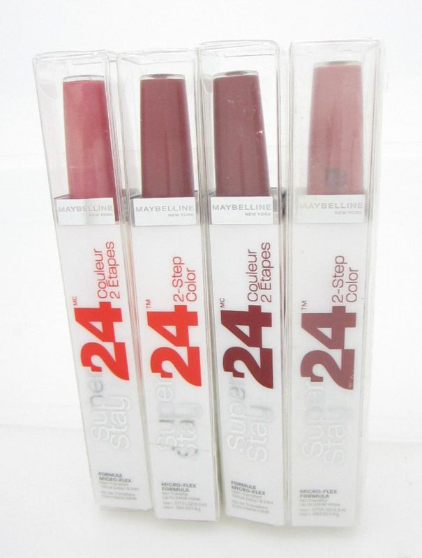 Maybelline Lipstick Red/ Brown SuperStay 24 Hour Lipcolor #020 #025 #125 #50 (4)