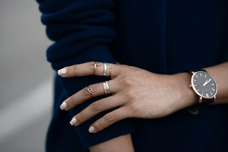 Margaret Zhang styles the Läder | Black.