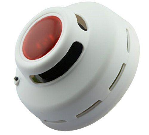 Standalone Asap Alarm asap Fotolistrik detector alarm Sensor Mendeteksi Bahaya Kebakaran Flaming Aa Baterai Bertenaga