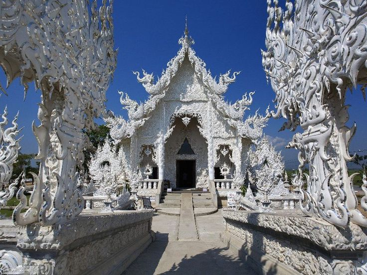 Необыкновенный буддийский храм в Таиланде.  Ват Ронг Кхун   #путешествия #этноспб  #Тайланд