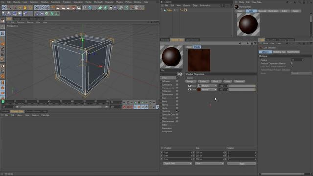The Layer Shader and Alpha Channel by Biscuits and Davey. In this tutorial I will explain the benefits of being able to stack effects, textures, images, and shaders on top of one another within a material channel, such as color. You can create highly detailed and inventive texture using the Layer Shader.
