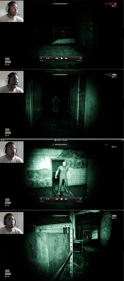 Outlast is a scary game !!
