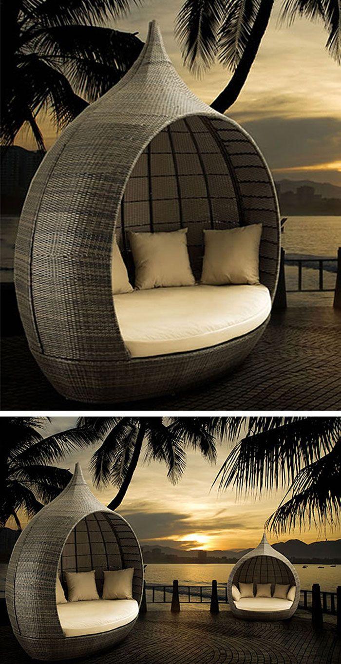 Dream beach canopy daybed #product_design #furniture_design