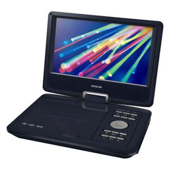 Sencor SPV 2919B hordozható DVD lejátszó