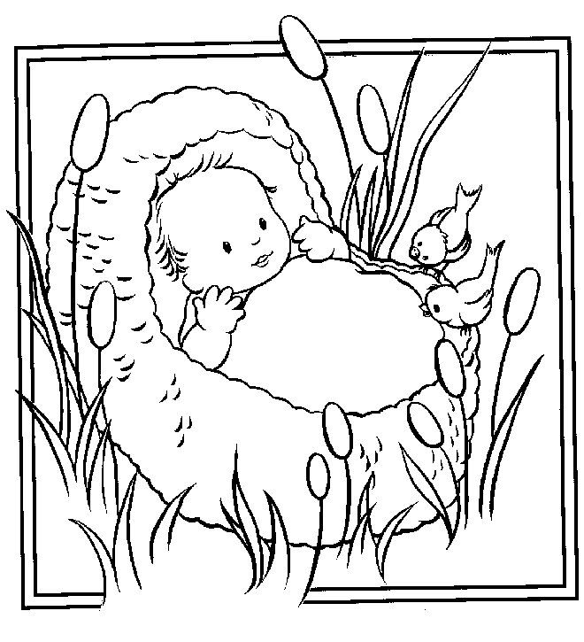 Free Coloring Pages 10 Commandments 168 Best Moses Burning Bush Struck The