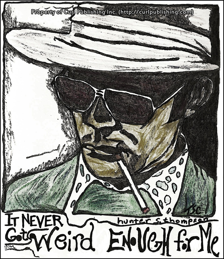 Hunter S Thompson Music Quote: 1000+ Images About H.S.T. On Pinterest