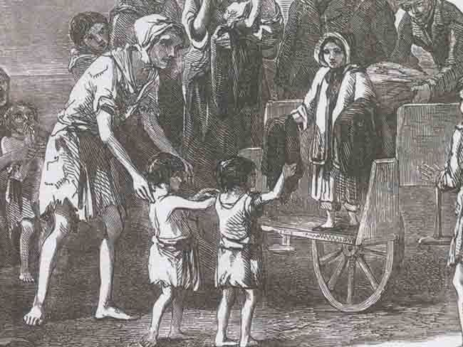 Why the real story of the Irish Famine is not taught in U.S. schools Bill Bigelow @ZinnEdProject April 04,2015 05:43 AM