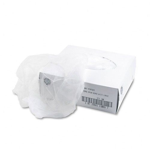 United Facility Supply : Disposable Hair Net, Spun-Bonded Polypropylene, White, 100 per Bag -:- Sold as 2 Packs of - 100 - / - Total of 200 Each. Sold as .: 2 Packs of. United Facility Supply : Disposable Hair Net, Spun-Bonded Polypropylene, White, 100 per Bag Ideal for any food service employee, these large, spun-bonded hair nets fit comfortably on most workers. Color(s): White.:Manufactured by.: United Facility Supply. Material(s): Spun Bonded. Apparel Type: Headwear.